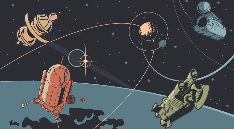 История космонавтики. Часть 1: первый шаг в неизведанное